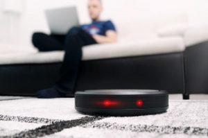 robot aspirador con WiFi
