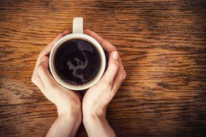 Taza de café exprés