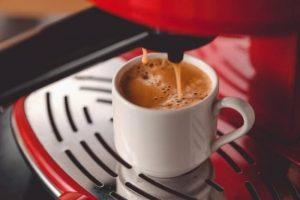 Café exprés de cafetería