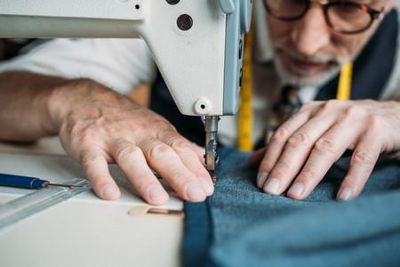 máquina de coser señor