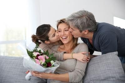 Dia de la Madre regalo padre hija