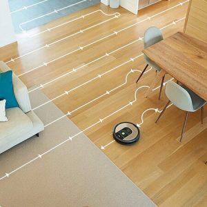 iRobot Roomba 966 limpiando