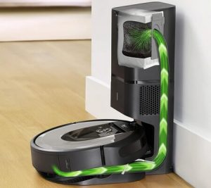 carga iRobot Roomba i7+