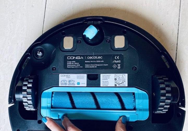 Análisis y pruebas de Eva Rodriguez con el robot aspirador Conga 4090